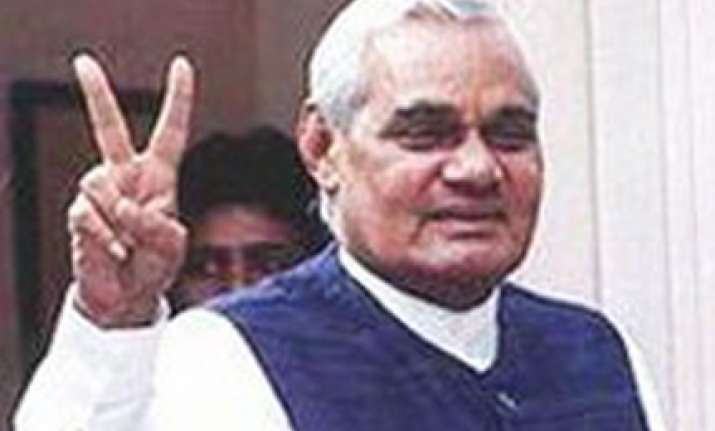 vajpayee appeals for votes in maharashtra haryana