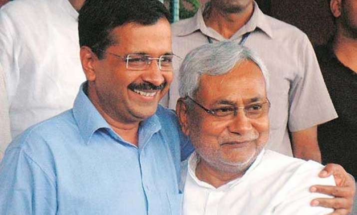 bihar polls nitish kumar arvind kejriwal to share dais