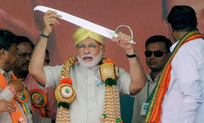 social media helped modi create image of non typical right