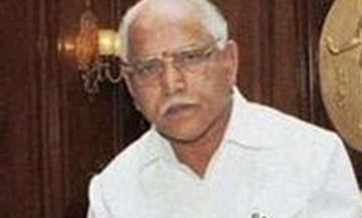 congress demands yeddyurappa s resignation