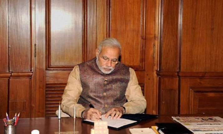 for good governance pm modi introduces new work culture at
