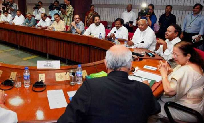 parliament logjam government to convene all party meet on