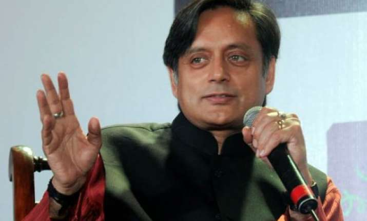 shashi tharoor thanks narendra modi for patting him on