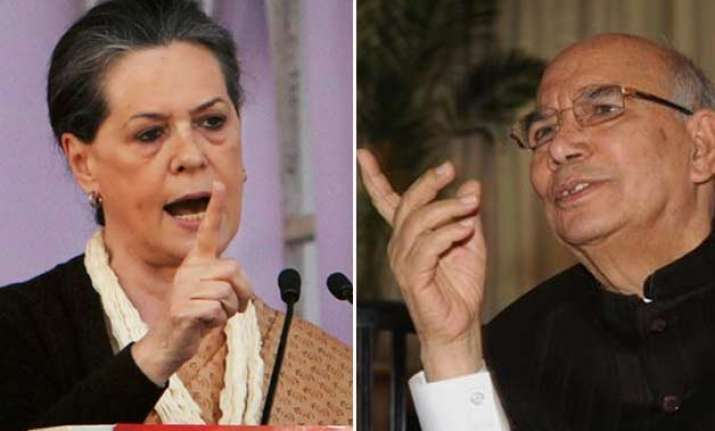 congress will not rise again but don t blame bechari sonia