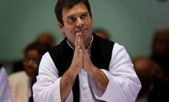 rahul gandhi s two day visit to rajasthan from tomorrow