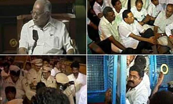 karnataka cong mla quits oppn down to 99