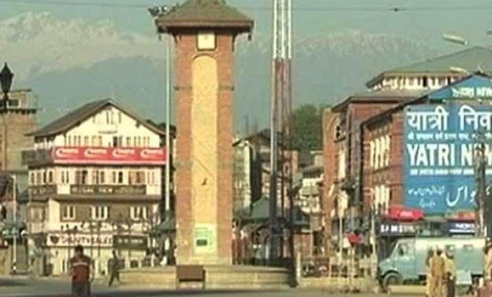restrictions in some areas of srinagar ahead of hurriyat