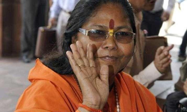 modi is a yug purush says sadhvi niranjan jyoti