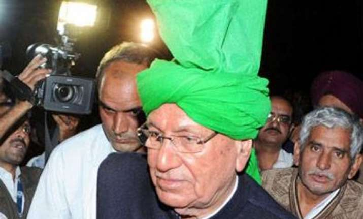 former haryana cm om prakash chautala to surrender at tihar