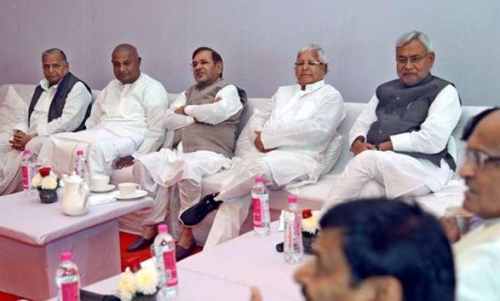 jd u gives nod for merger with janata parivar