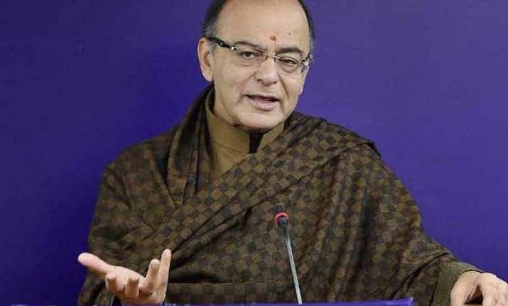 congress demand on gst rate in statute preposterous jaitley
