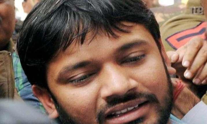 delhi police asks jnu to keep it informed about kanhaiya s