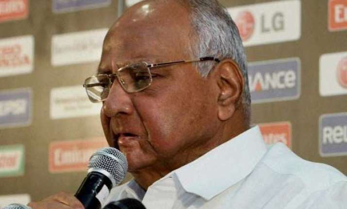 ncp chief sharad pawar opposes changes in land act