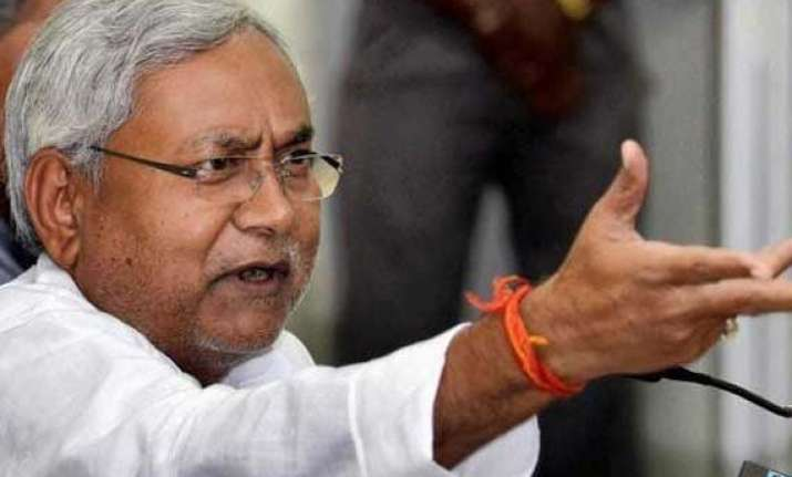 i don t run a marriage bureau nitish s jibe at sushil modi