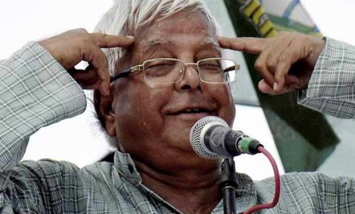 bihar polls two firs filed against lalu for his remarks