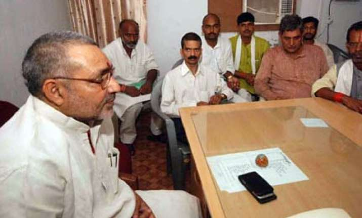 nda set to ride trust surplus to power for 2nd term bjp