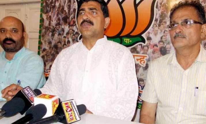 jk will soon get a strong and stable government bjp