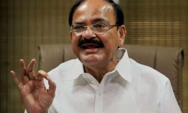 govt to talk to congress other parties on gst venkaiah naidu