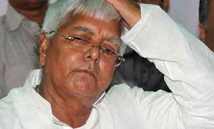 bjp questions invitation to lalu prasad in a govt function