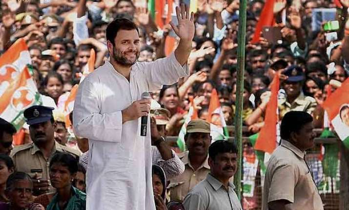 will not allow prime minister to take farmers land rahul