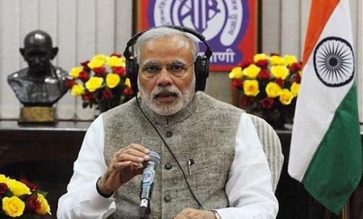 pm modi defends land bill says opposition stalling nation s