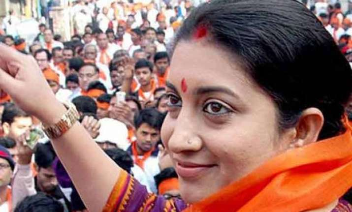 smriti irani likely to get z plus security report
