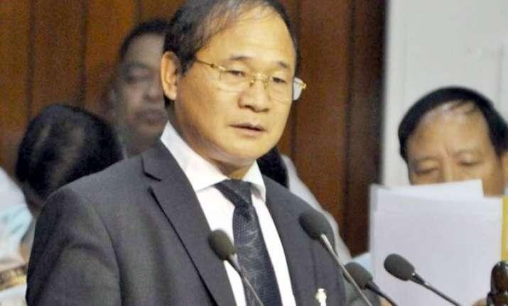 bjp murdering democracy in arunachal pradesh says cm nabam