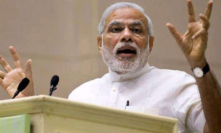 nda govt restored india s global credibility pm modi