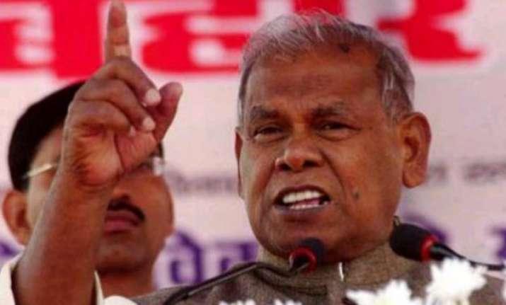 manjhi says next cm should be a dalit