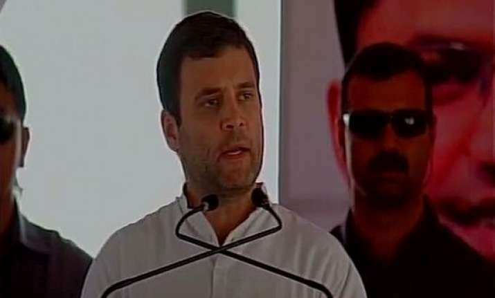 rahul gandhi takes on modi over ceasefire violations