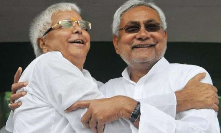 nitish lalu alliance ahead in bihar opinion poll