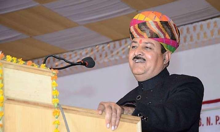 rajasthan bjp mla denies threatening voters