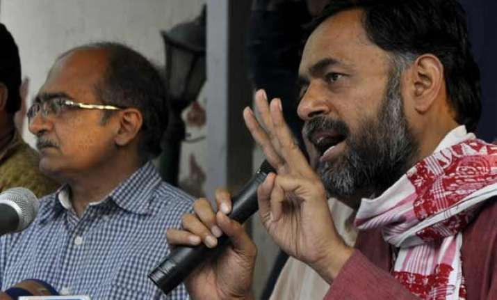 ex aap leader yogendra yadav launches swaraj abhiyan in
