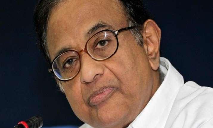 p chidambaram accuses rajnath singh of distortion on terror