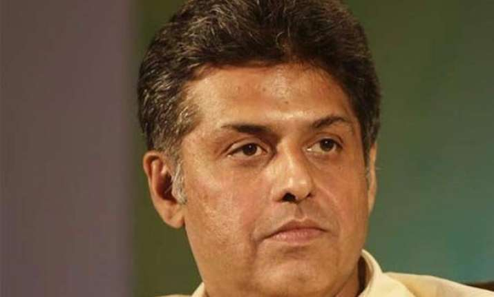 manish tewari is the new congress spokesperson