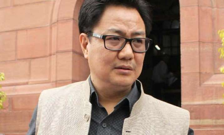 totally unaware if anyone was asked to deboard kiren rijiju