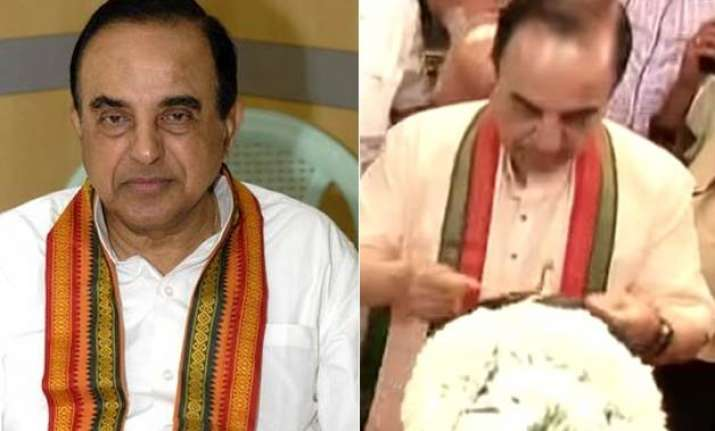 subramanian swamy almost just got married again