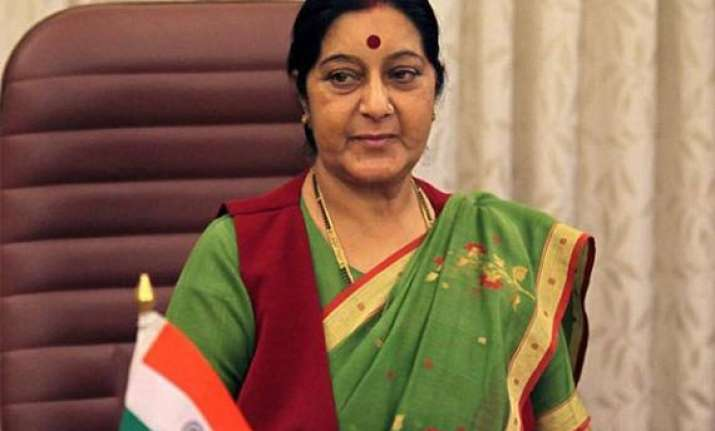 sushma to inaugurate pravasi bhartiya divas in london on