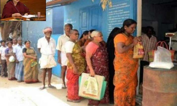 jayalalitha s pongal gift to ration card holders