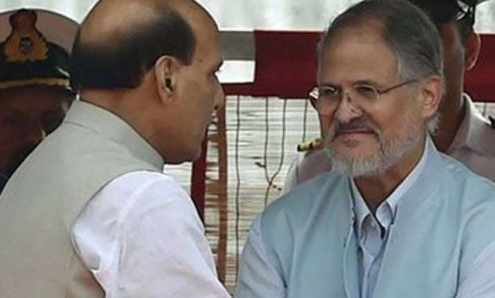 jung meets rajnath will discuss govt formation with parties