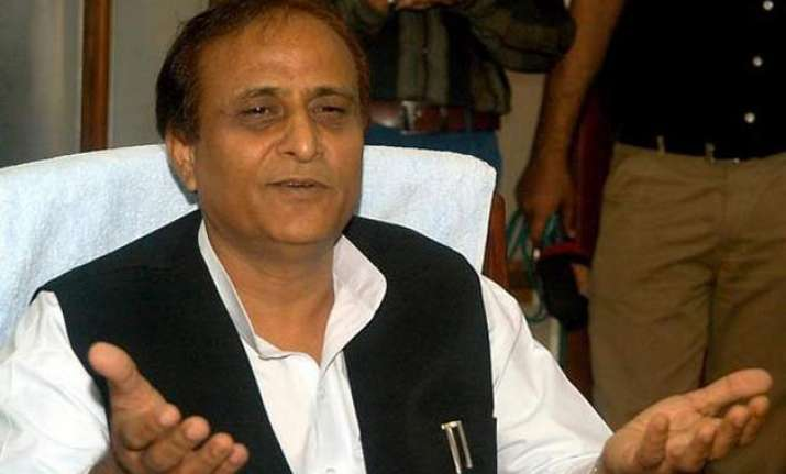 azam khan slams haryana cm says muslims are victims of