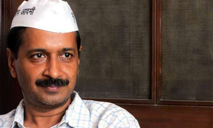 bjp rattled by our good work kejriwal on mha notification