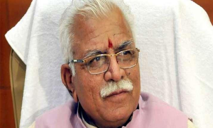 schemes to benefit poor manohar lal khattar