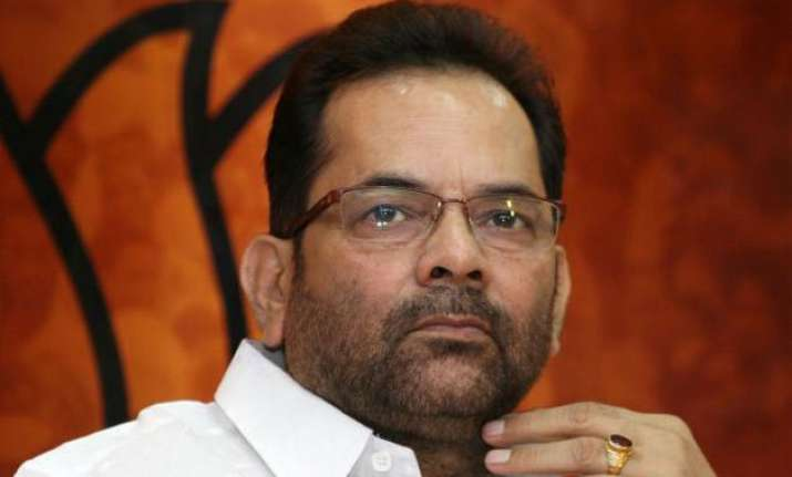 relief to union minister mukhtar abbas naqvi as court sets
