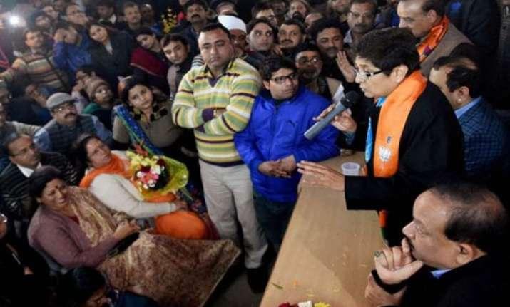 delhi polls kiran bedi woos muslims says she is against