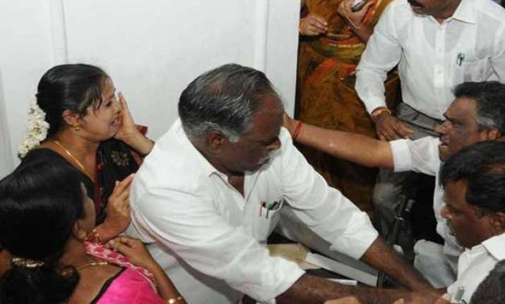 councillors exchange blows in coimbatore corporation