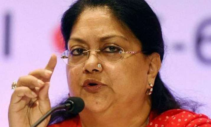 refinery to come up in barmer says vasundhara raje