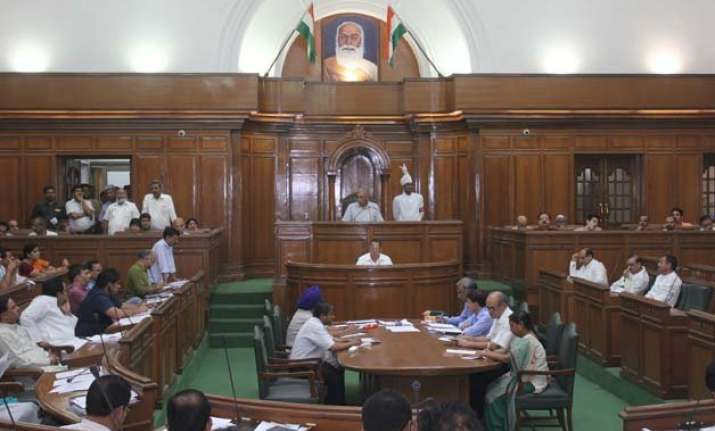 delhi assembly to send resolution against mha notification