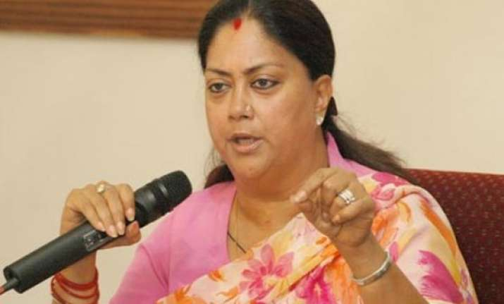 vasundhara raje recommends cbi probe into ambulance scam