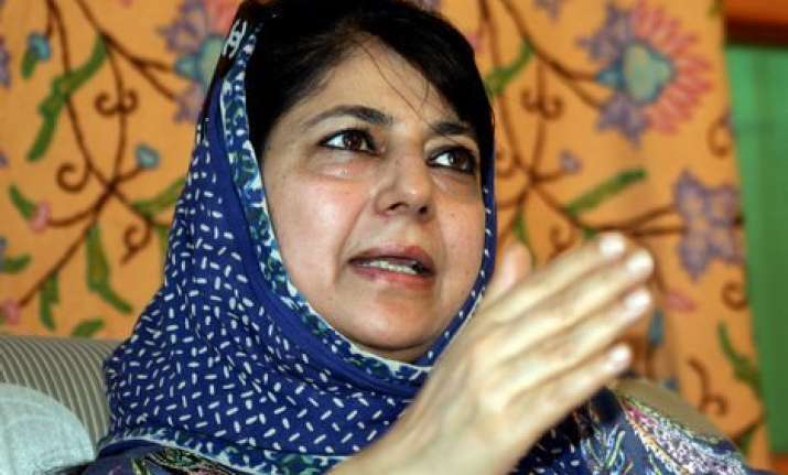 no indication that bjp serious about resolving kashmir